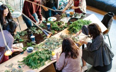 Holiday Classes with Petals & Pinot