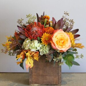 Wooden Rustic Blossoms Class